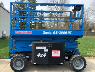 New 26' 4x4 lift!