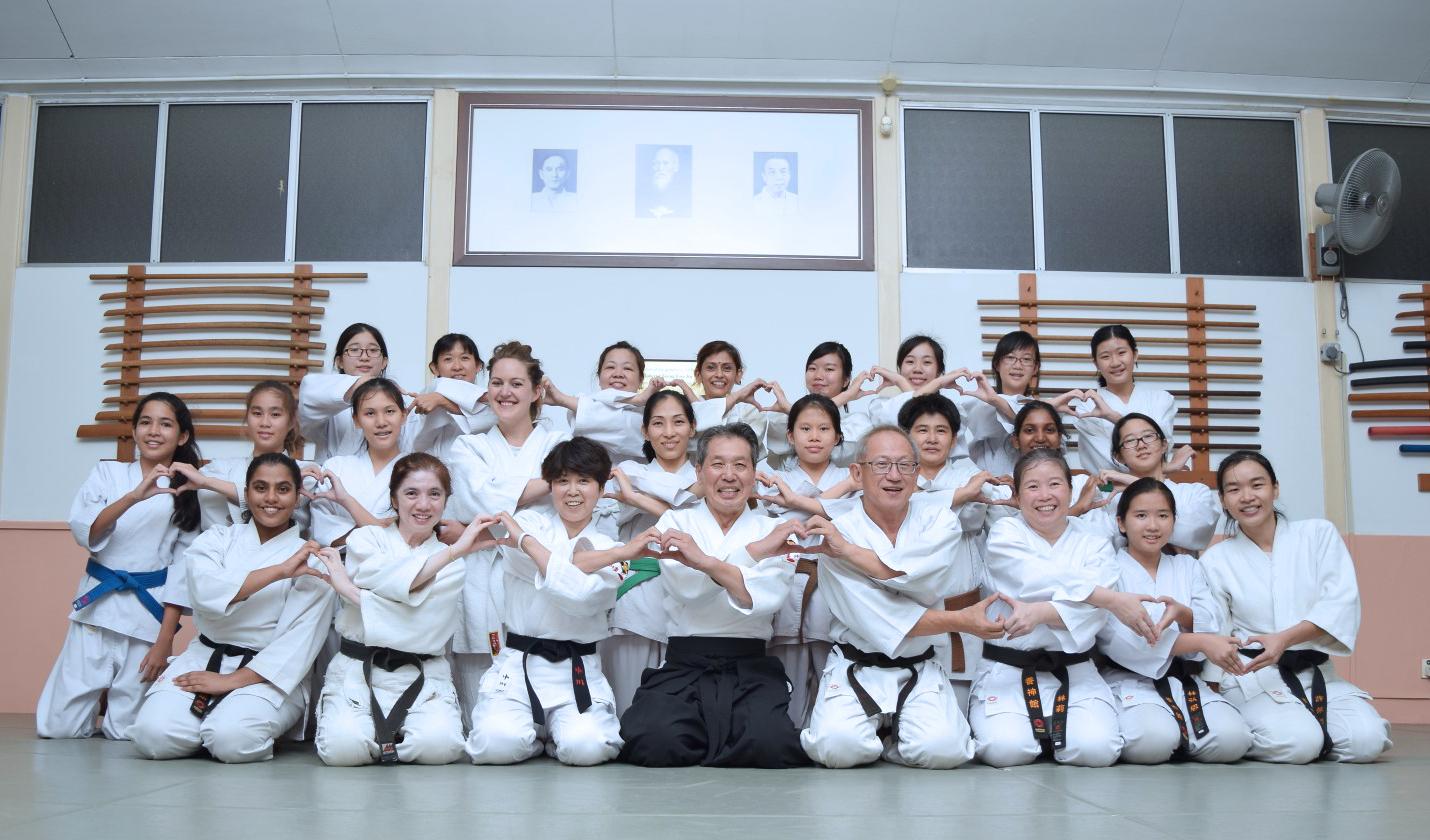 2015年7月マレーシア養神館女性限定特別講習会