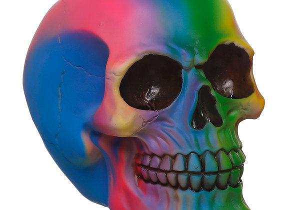 Rainbow Skull (12 cm)