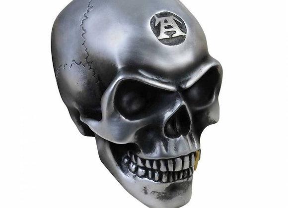 Metalised Alchemist Skull (13,5cm)