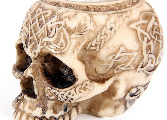 Skull Tealight Holder A  (6,5cm)