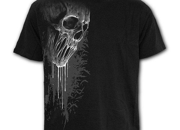 BAT CURSE - Front Print T-Shirt Black