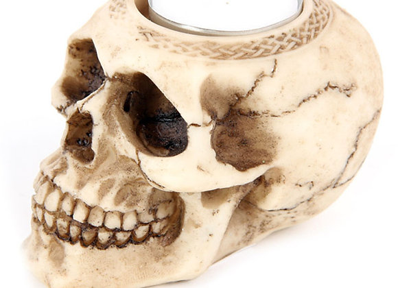 Skull Tealight Holder B (6,5cm)