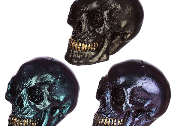 Metallic Mini Skull (5cm)