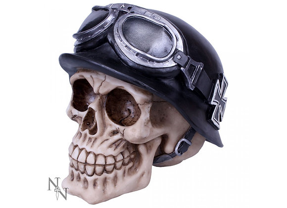 Iron cross skull biker (15,5 cm)