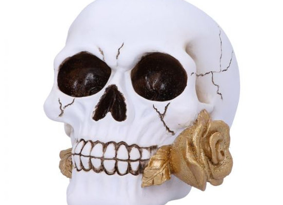 Floral Fate Skull (16cm)