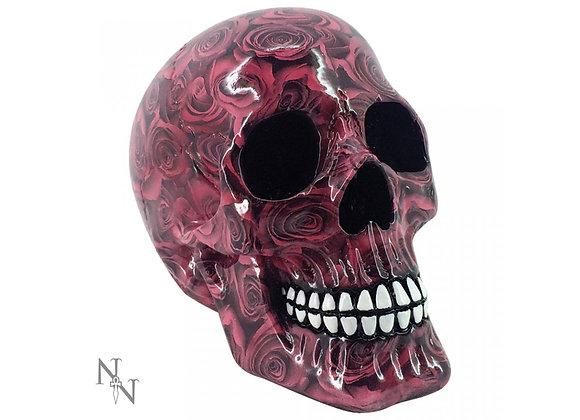 Romance skull (19 cm)