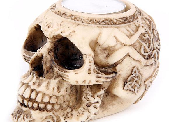 Skull Tealight Holder C (6,5cm)
