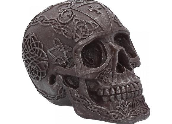 Celtic Iron skull (16 cm)