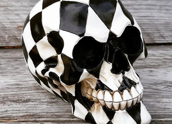 Harlequin Skull (15,8 cm)