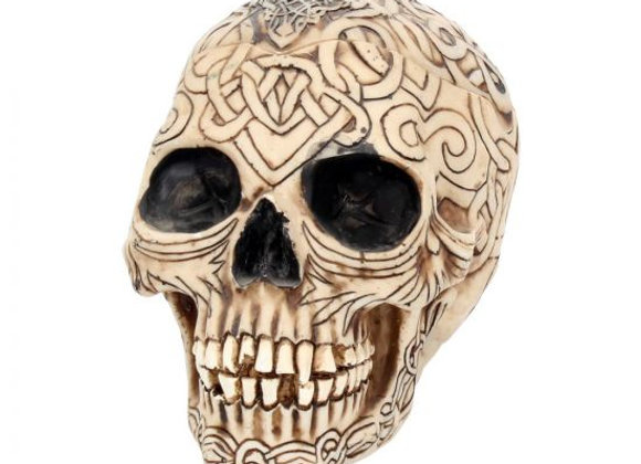 Celtic Skull Box small (12cm)
