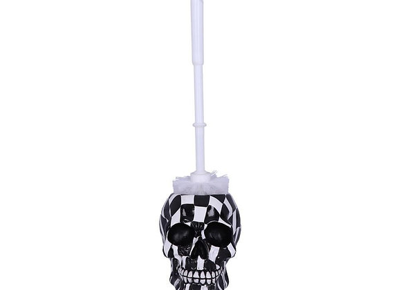Brush with Death- Harlequin toiletbrush-holder (16,4cm)
