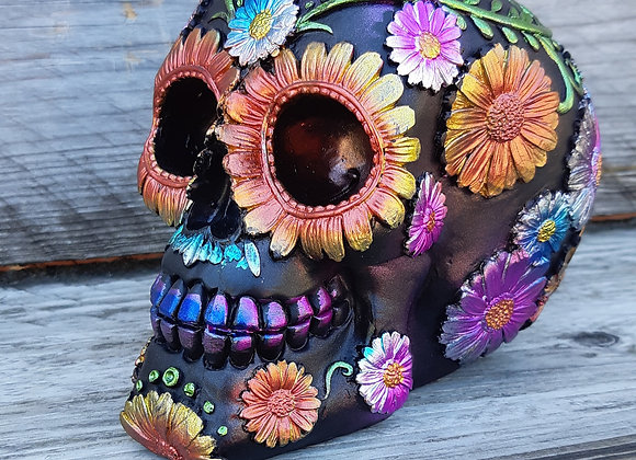 Day of the Dead skull (16cm)