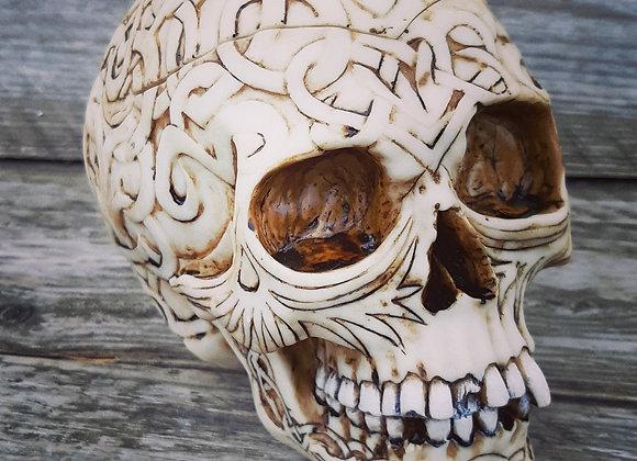 Celtic Skull Box (20cm)
