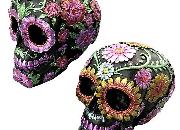 Day of the Dead skull (16cm)