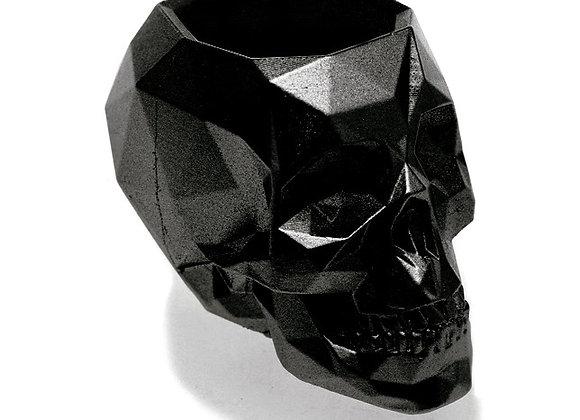 Zwart Metallic Skull Bloempot (17cm)