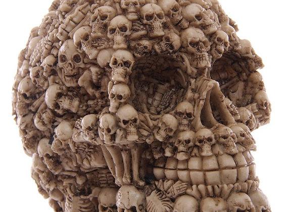 Multi Skull Brown (12cm)