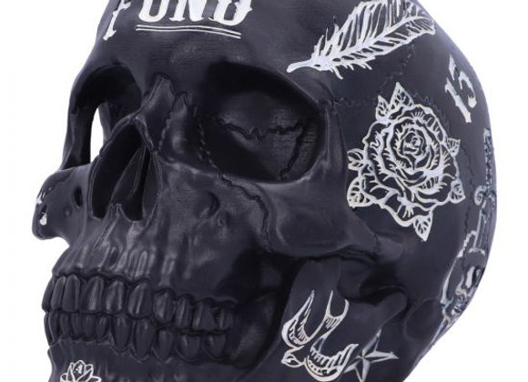 Tattoo Fund Skull Moneybox (18cm)