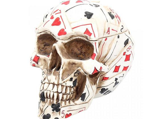 Dead  Mans Hand  Skull Box (18,5 cm)