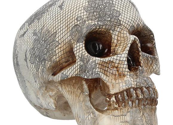 Elegant Death skull (19cm)
