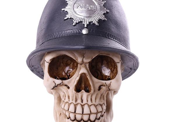English Police Skull (15 cm)
