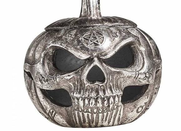 Pumpkin Skull Box (11cm)
