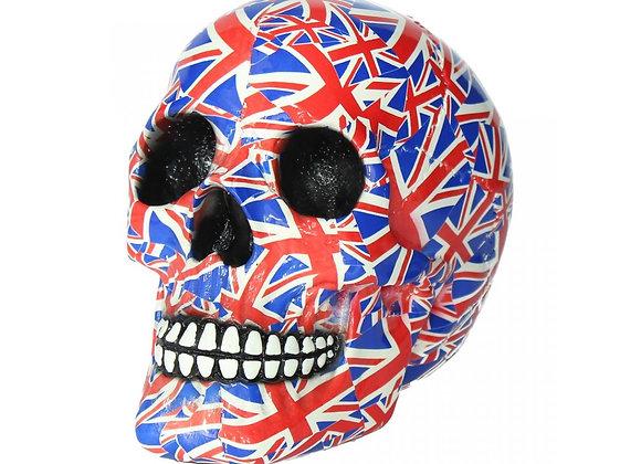 English Patriot Skull (19 cm)
