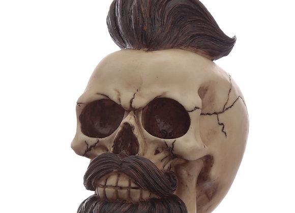 Hipster skull (16cm)
