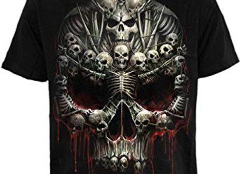 Death Bones T-Shirt Black size XL