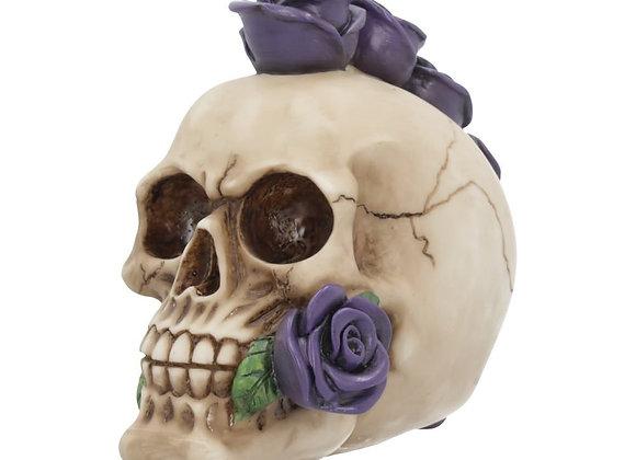 Rosehawk Purple Skull (15cm)