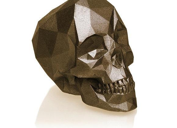 Brons Skull kaars (12cm)