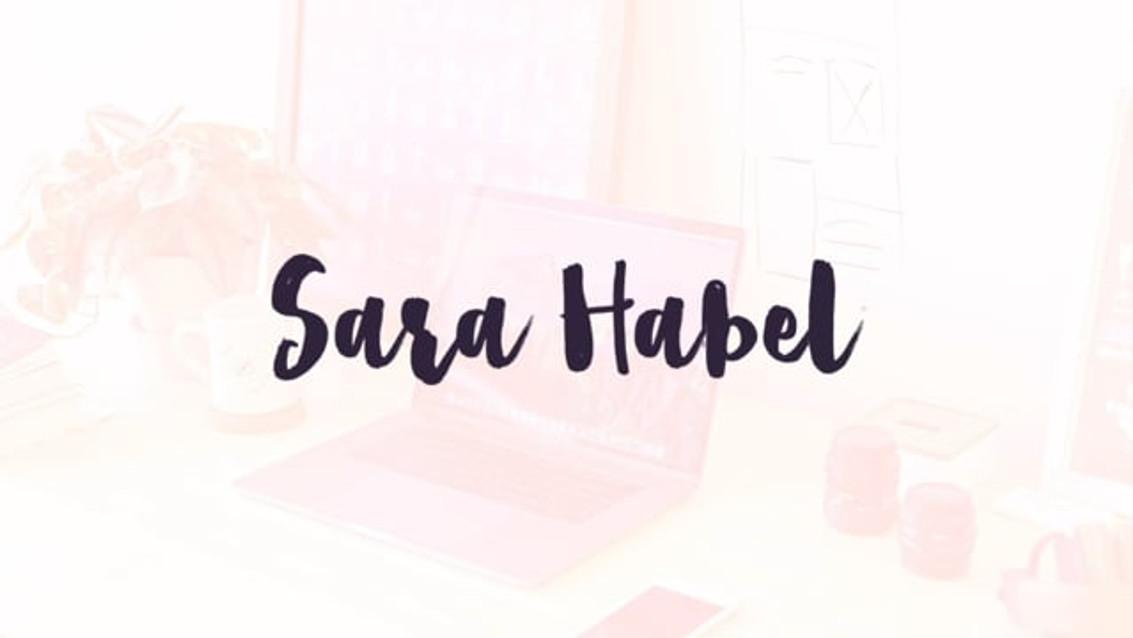 Reel 2019 · Sara Habel, Graphic Designer
