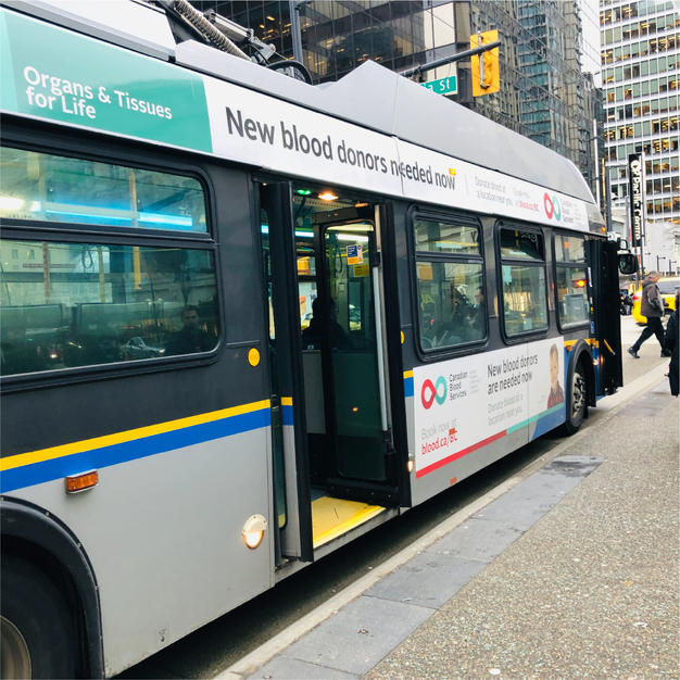 Vancouver Bus Ads