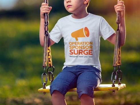 Operation Sponsor Surge Logo Design