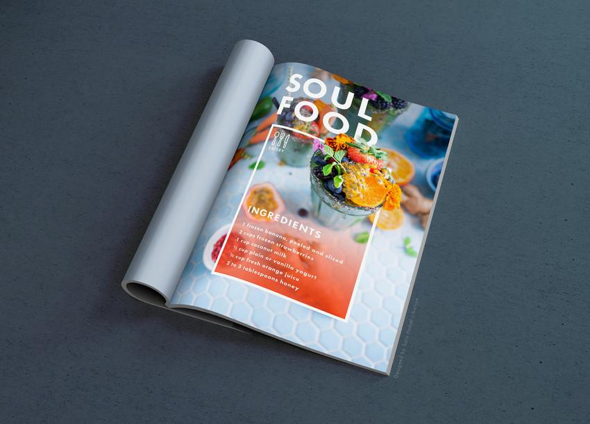 Food Magazine Page