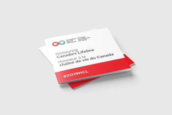Ceremony Booklet · Honouring Canada's Lifeline 2019
