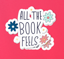 All The Book Feels · Sticker Pack