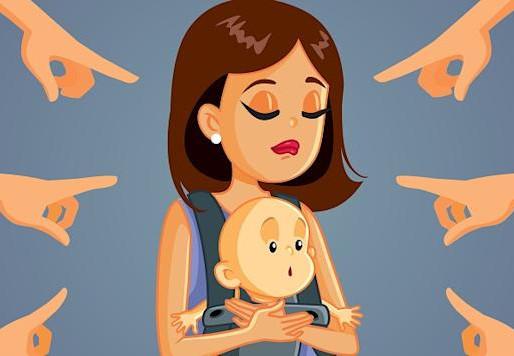 """""""Non sei una buona madre"""": ma possono dirtelo su Facebook?"""