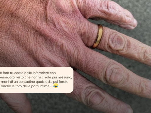 COVID: l'odio contro il medico che ha mostrato le sue mani