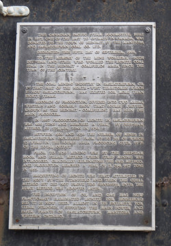 Plaque Affixed to 3522