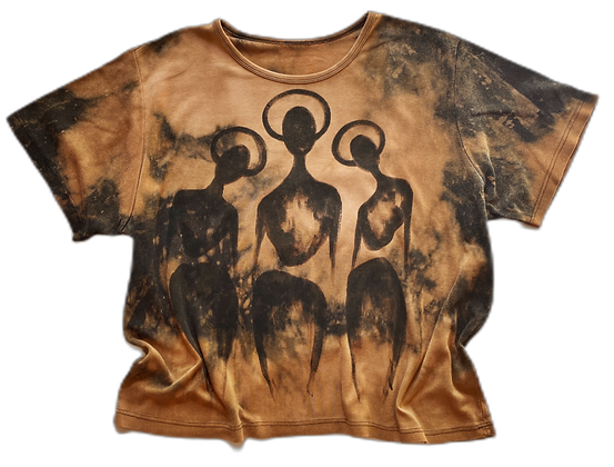 M/L Stretch - The Cool People (Bleached, Painted)