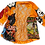Thumbnail: M - Patched Silky Lounge/Kimono Jacket