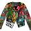 Thumbnail: Rising Sun Painted Leather Jacket
