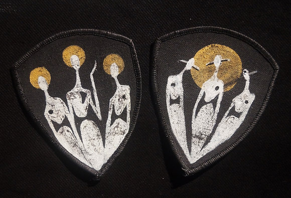 Two Painted Patches - The Cool People