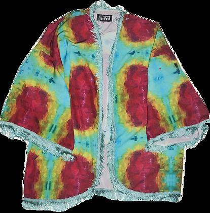 Holy Rainbow Fringe Jacket