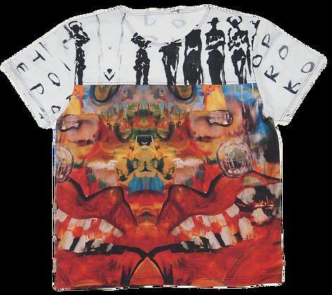 M - Surrealist Garden x The Cool People Split T-Shirt