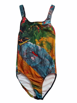 Paint Palette Printed Bodysuit