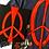 "Thumbnail: ""Broken Peace"" Canvas (9X12)"