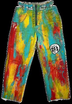 Zipper Palette Jeans