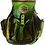 Thumbnail: Metallic Green Cool People Peace Leather Backpack
